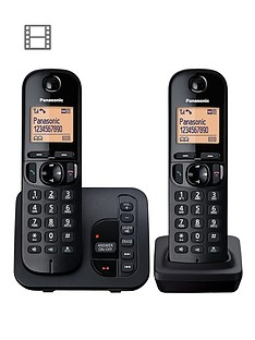 panasonic-tgc-222eb-cordless-telephone-with-answering-machine-and-nuisance-call-block-twin