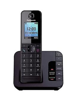 panasonic-kx-tgh220eb-cordless-telephone-with-answering-machine-and-nuisance-call-block-single