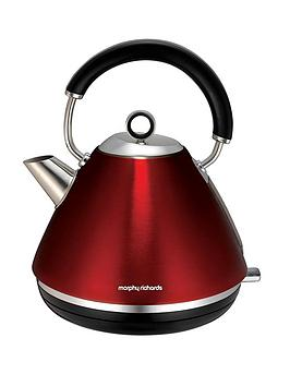 Morphy Richards 102004 Accents Pyramid Kettle - Red