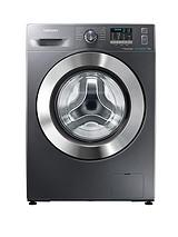 WF70F5E2W4X 1400 Spin, 7kg Load EcoBubble™ Washing Machine - Next Day Delivery - Inox