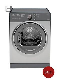 hotpoint-tvfs73bgg-7kg-load-sensor-dryer-graphite