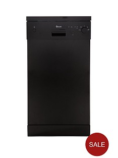 swan-sdw2010b-10-place-slimline-dishwasher-black-next-day-delivery