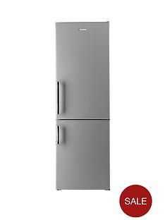 hoover-hvbf6182sfhk-60cm-frost-free-fridge-freezer-silver