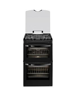zanussi-zcg43200ba-55-cm-double-oven-gas-cooker-black