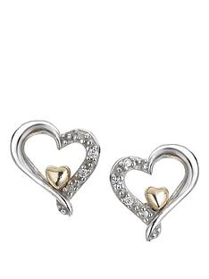 keepsafe-open-heart-stud-earrings-in-sterling-silver-and-9-carat-gold-with-cubic-zirconia-setting