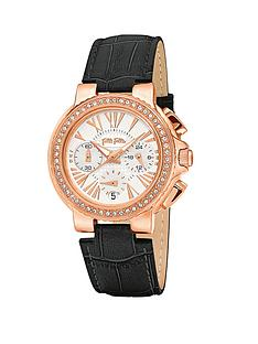 folli-follie-watchalicious-crystal-set-rose-gold-plated-chronograph-black-leather-strap-ladies-watch