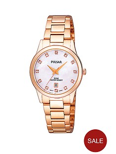 pulsar-rose-gold-tone-ladies-watch