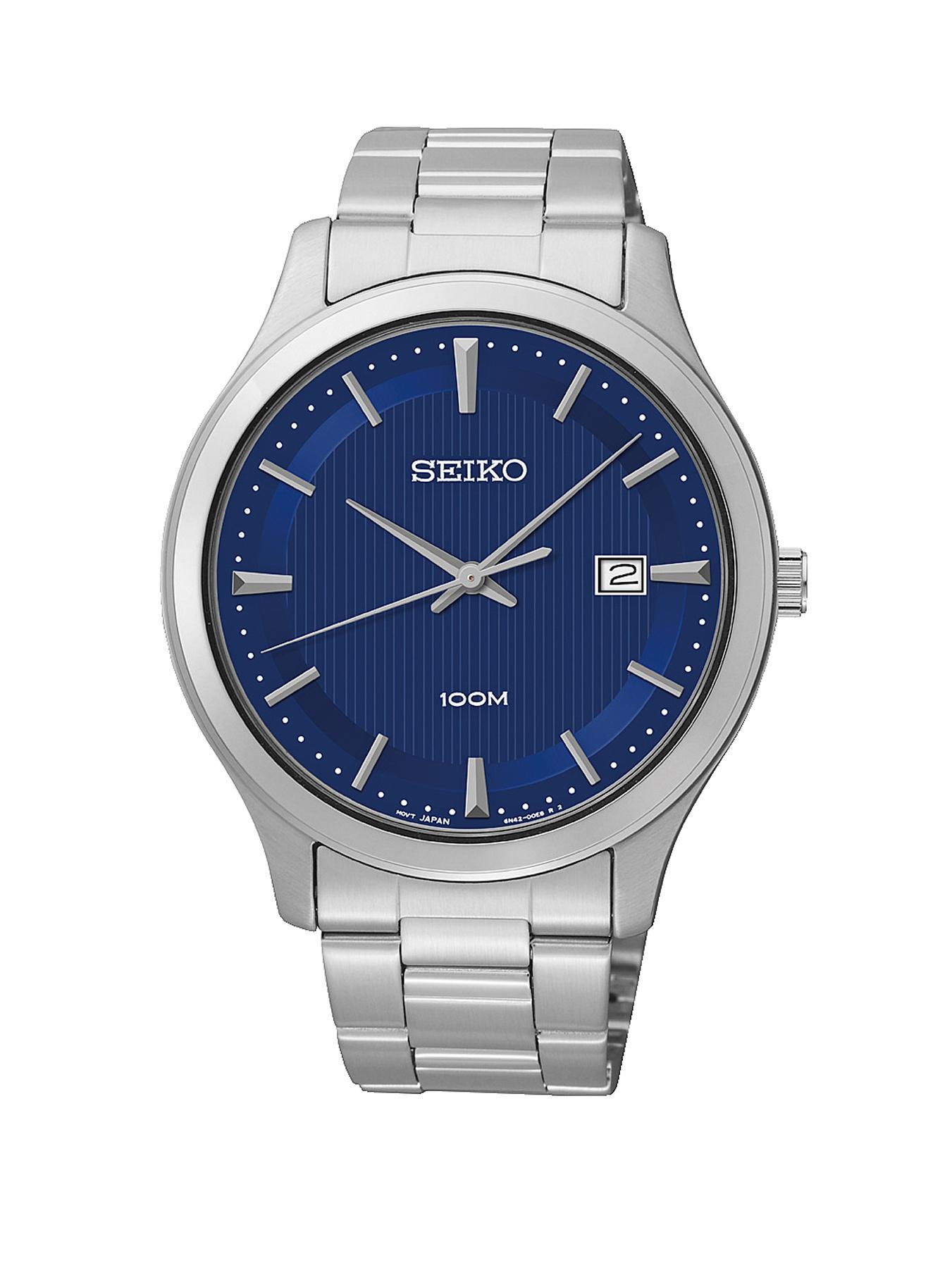Seiko Stainless Steel Mens Watch