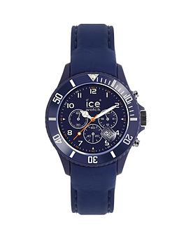 Ice-Watch Ice-Chrono Matte Blue Chronograph Mens Watch
