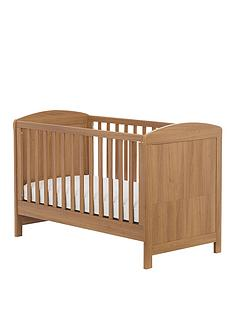 mothercare-padstow-cot-bed-oak-effect