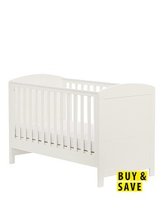 mothercare-padstow-cot-bed-white