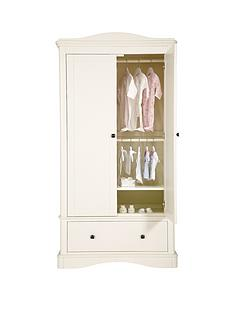 mamas-papas-ashford-wardrobe-white
