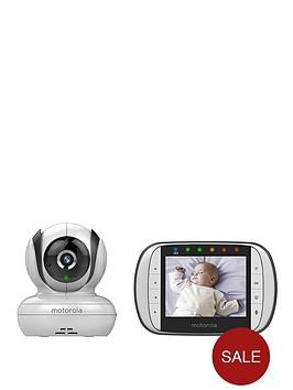 motorola mbp36s remote wirless video baby monitor. Black Bedroom Furniture Sets. Home Design Ideas