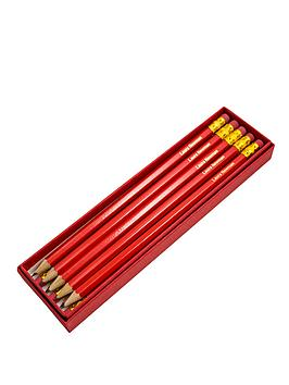 personalised-box-of-12-red-pencils