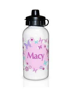 personalised-butterfly-drinks-bottle