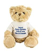 Personalised Message Teddy