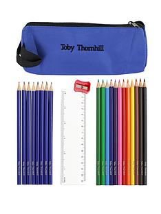 personalised-pencil-case-and-pencils