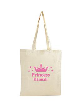 personalised-princess-cotton-bag