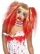 Halloween Blood Drip Wig