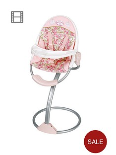 baby-annabell-dolls-highchair