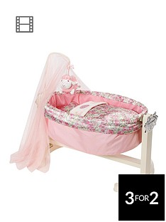 baby-annabell-rocking-cradle