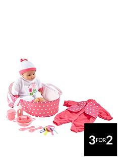 small-wonders-41-cm-talking-baby-gift-set
