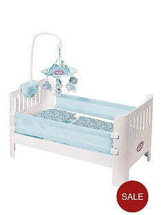 baby-annabell-baby-george-bed