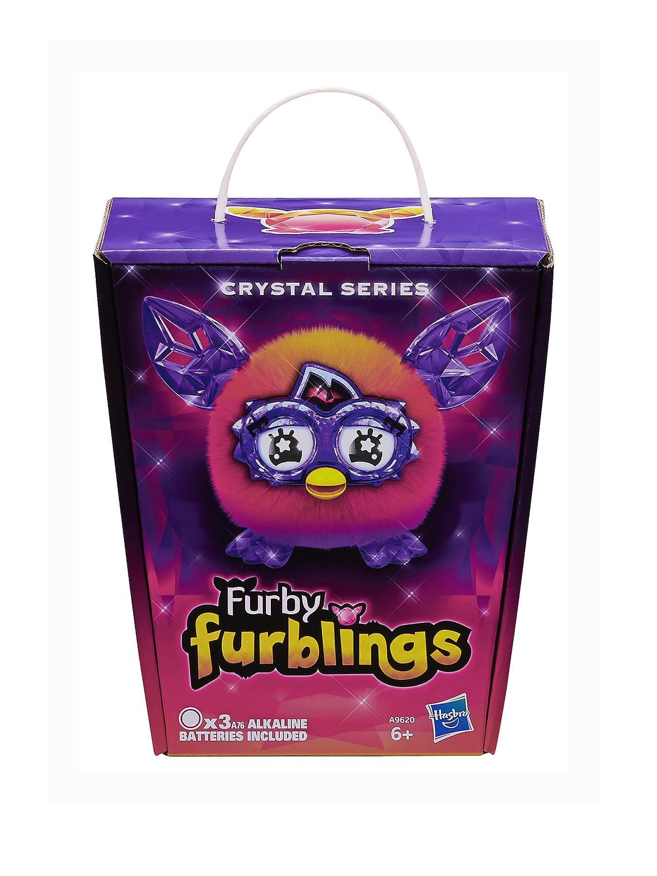 Furby Boom Orange to Pink