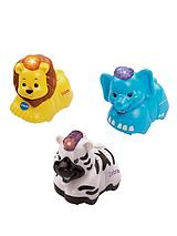 Toot Toot Animals - Elephant, Zebra and Lion