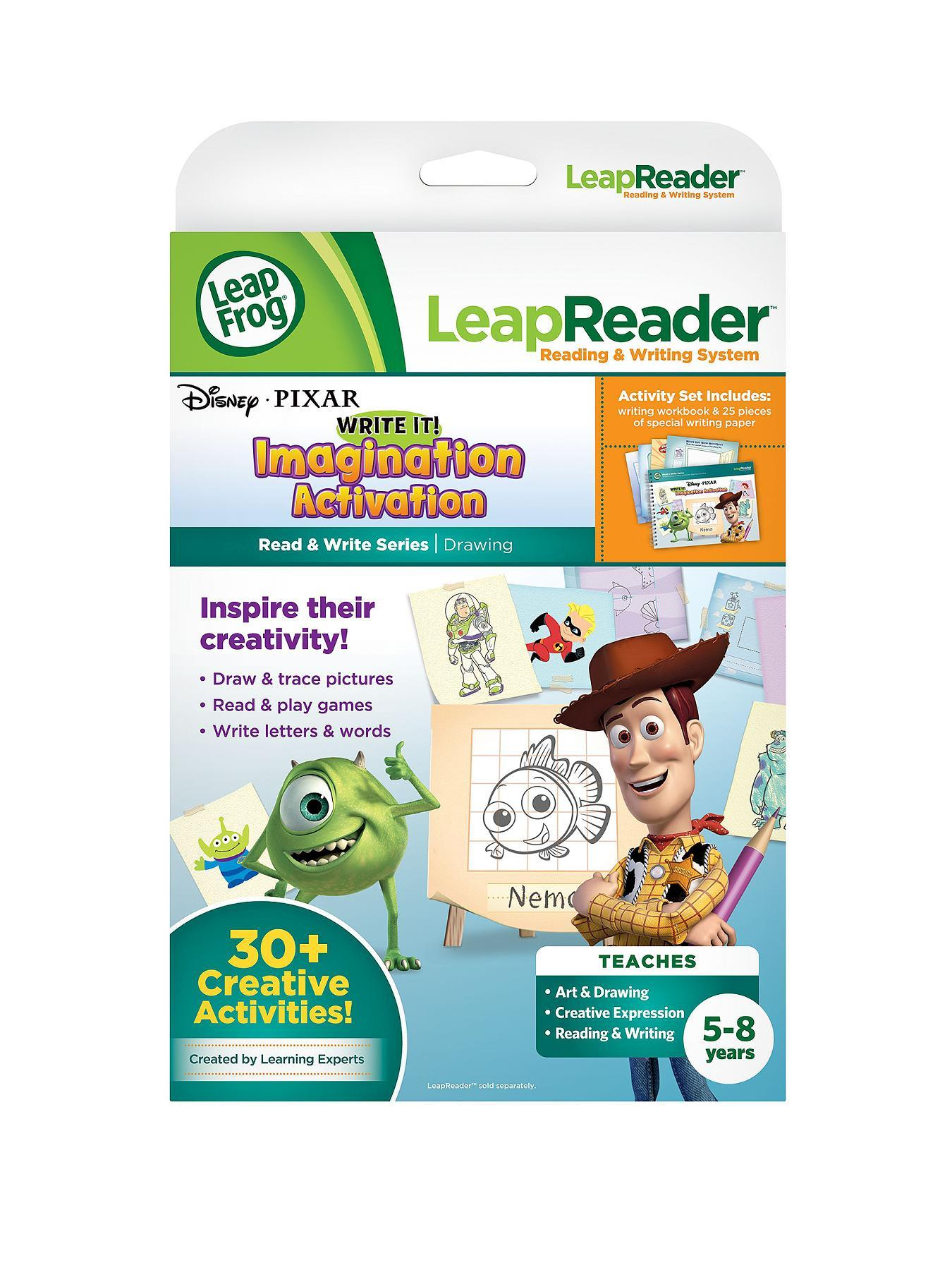 LeapFrog LeapReader Read and Write Activity Book - Disney/Pixar