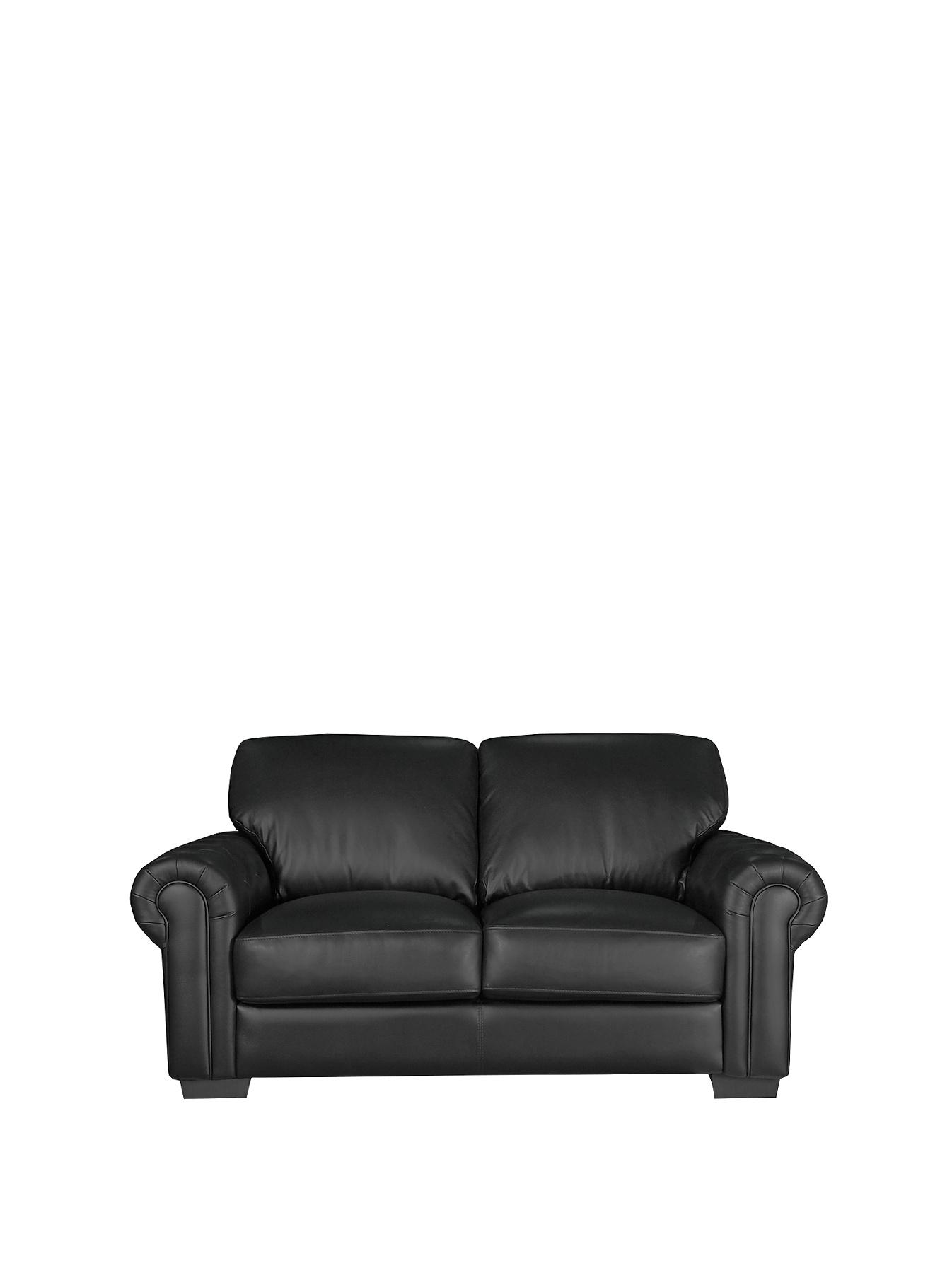 Augusta 2-Seater Sofa - Black, Black,Chocolate,Cream