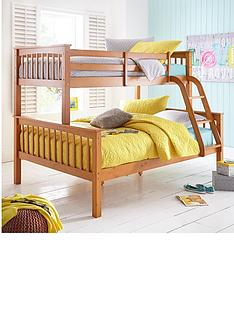 new-novara-trio-bunk-bed-with-optional-standard-and-standard-4ft-mattress