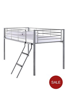 kidspace-domino-mid-sleeper-bed-with-optional-mattress