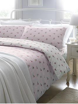 brushed-cotton-floral-duvet-cover-set-pink
