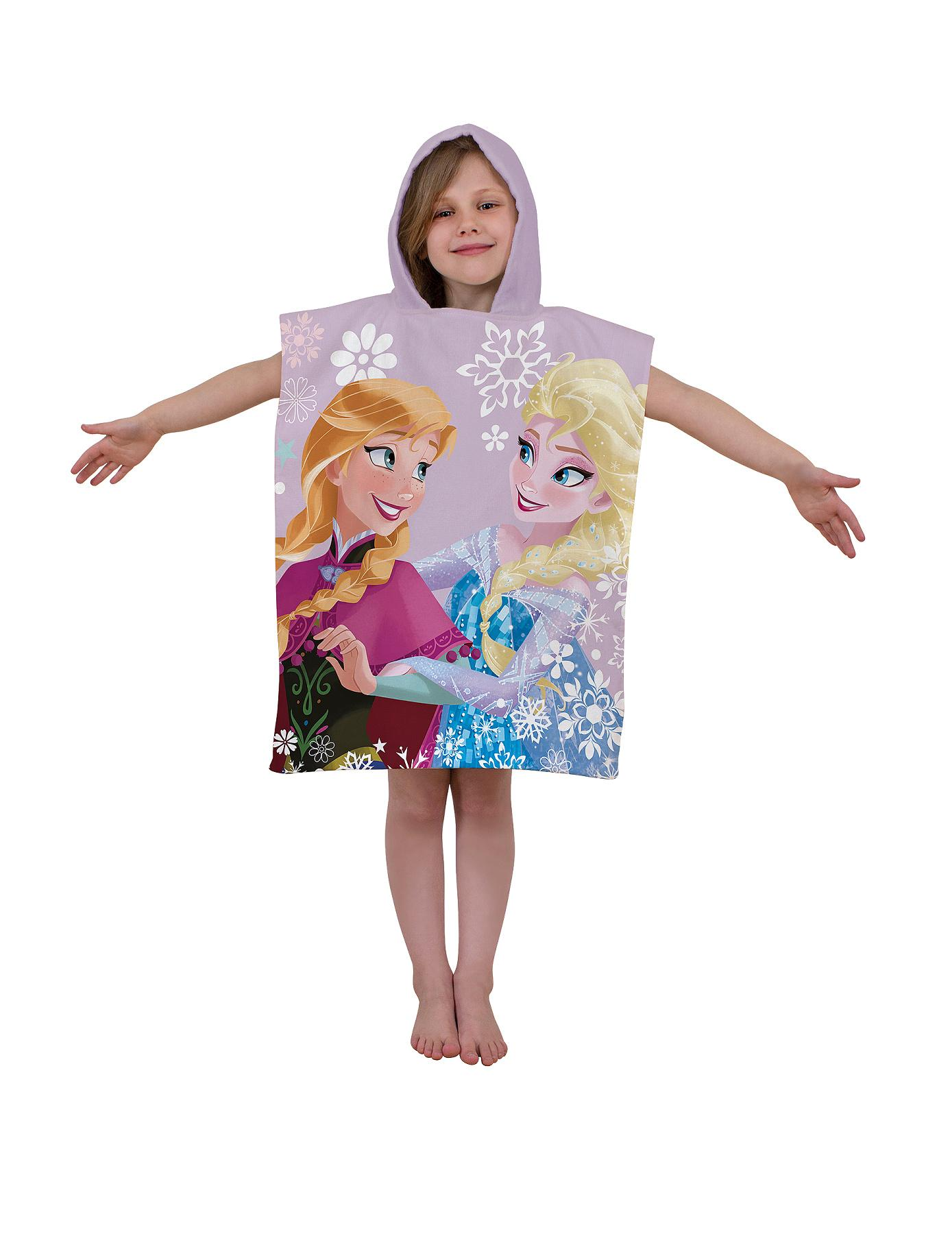 Disney Frozen Crystal Hooded Poncho.