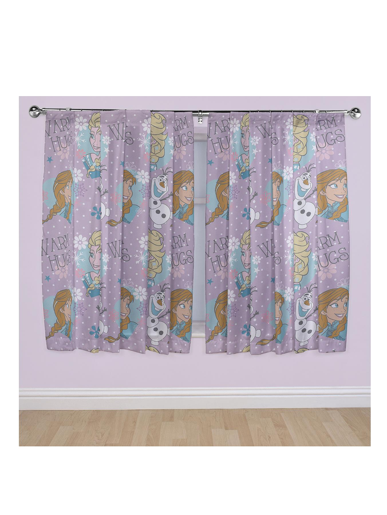 Disney Frozen Crystal Curtains.