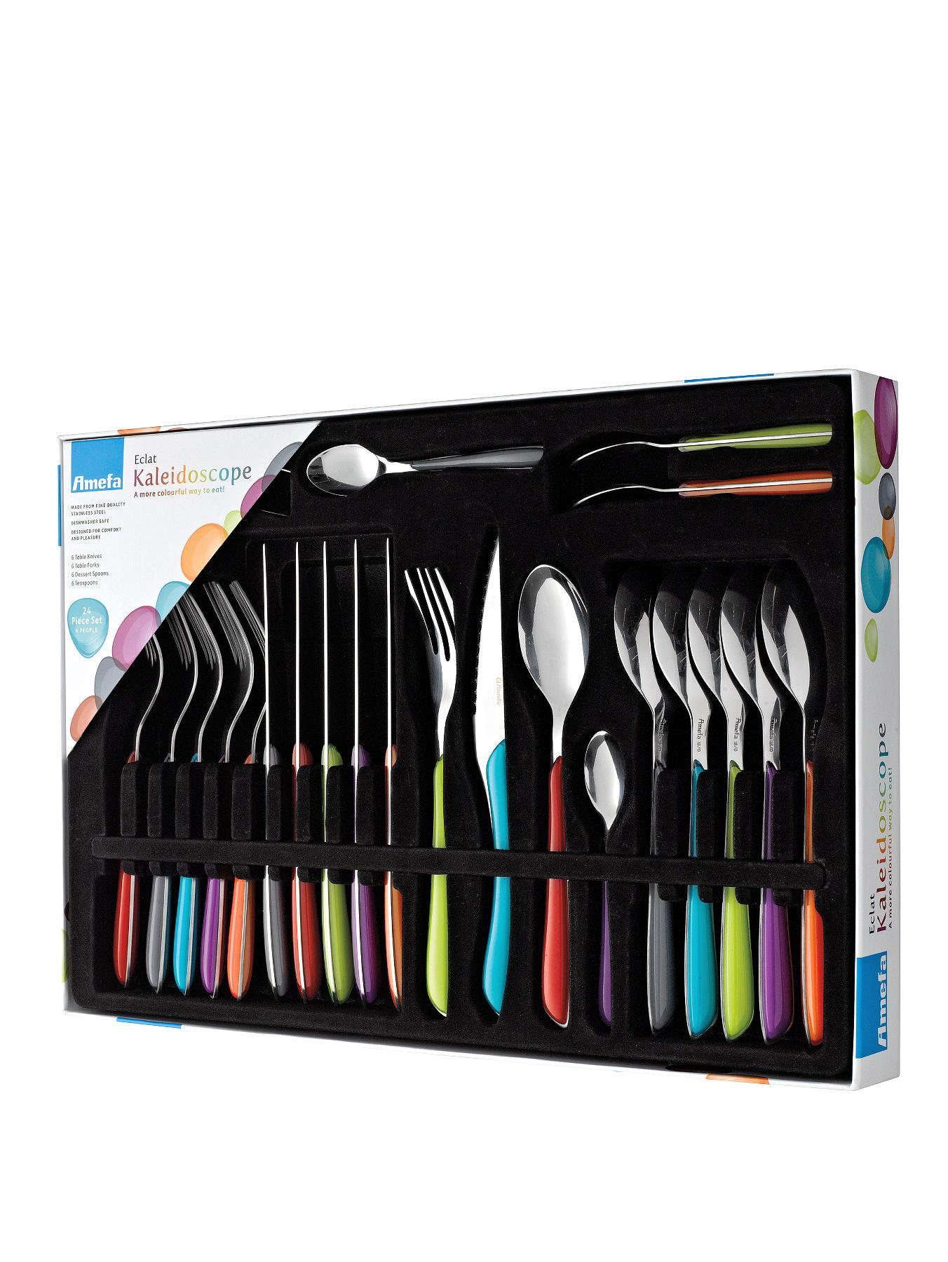 Amefa Eclat Kaleidoscope 24-Piece Cutlery Set