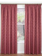 Laura Jacquard Pencil Pleat Curtains