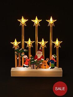 led-candle-bridge-with-santa-scene-christmas-decoration