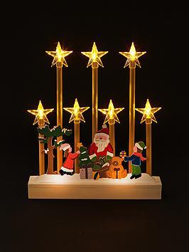 led-candle-bridge-with-santa-scene-christmas-decoration