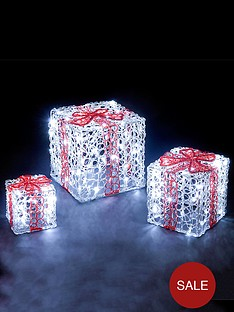 acrylic-led-gift-box-outdoor-christmas-decorations-set-of-3