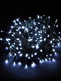 200-white-indooroutdoor-multi-action-christmas-lights-with-green-cord-includes-free-lights