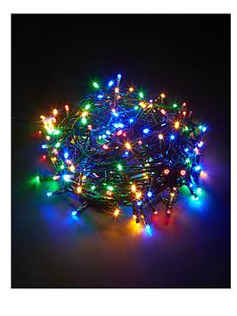 240 Super Bright Multi Coloured Indoor Outdoor LED Christmas Lights