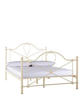 Marseilles Metal Bed Frame - Bed Frame with Airsprung Luxury Mattress
