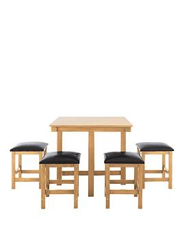 Hampton dining set for Very small dining sets
