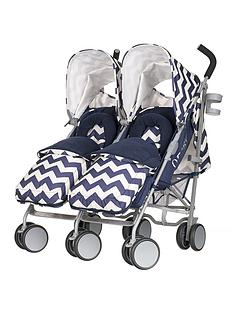 obaby-leto-plus-twin-stroller-and-footmuffs-zigzag-navy