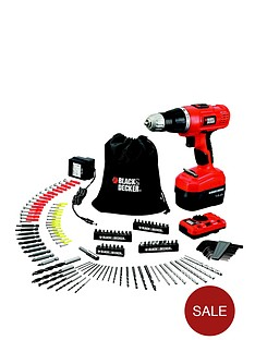 black-decker-epc148vda-gb-144-volt-combi-hammer-drill-kit-manual-pipe-and-wire-detector-and-150-accessories