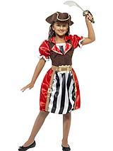 Girls Pirate Captain - Childs Costume