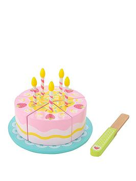 early-learning-centre-wooden-birthday-cake