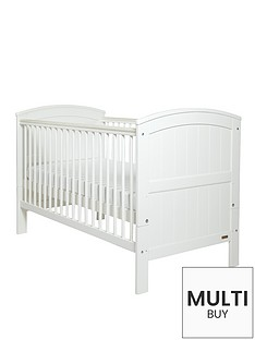 mamas-papas-hayworth-cot-bed-white